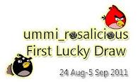 "MS menang GA ""Ummi 1st Lucky Draw"""