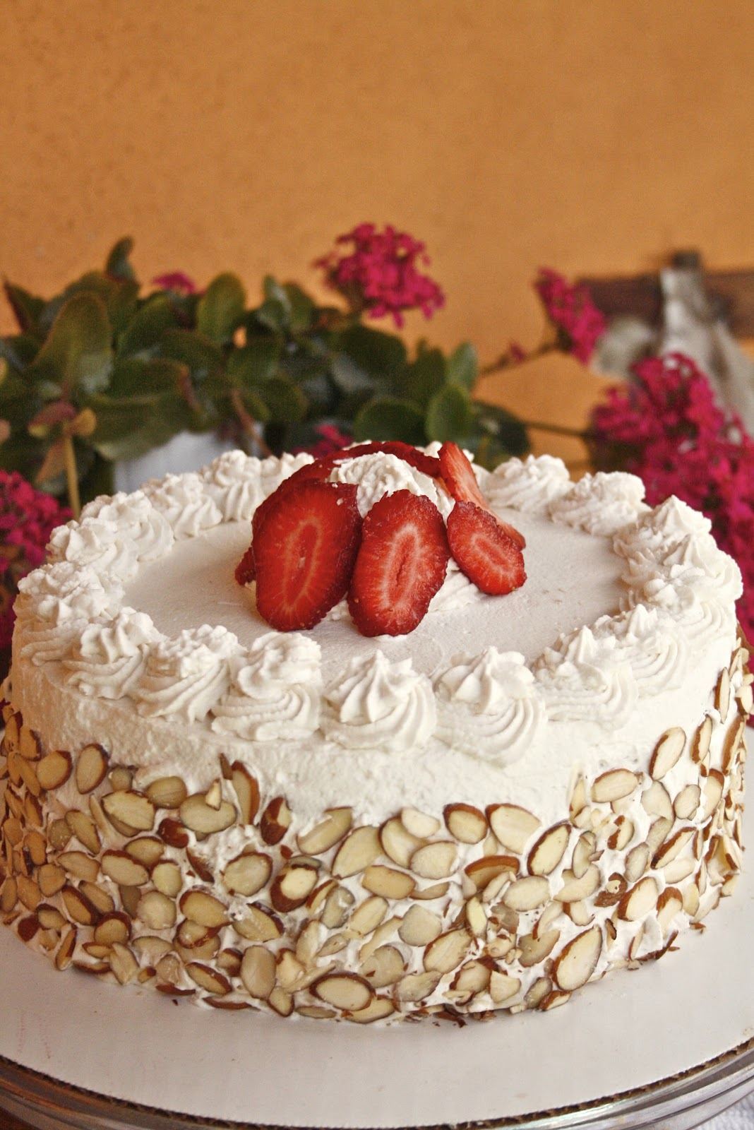 Italian Sponge Liquor Wedding Cake Recipe
