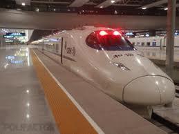 Bullet Train Beijing Shanghai