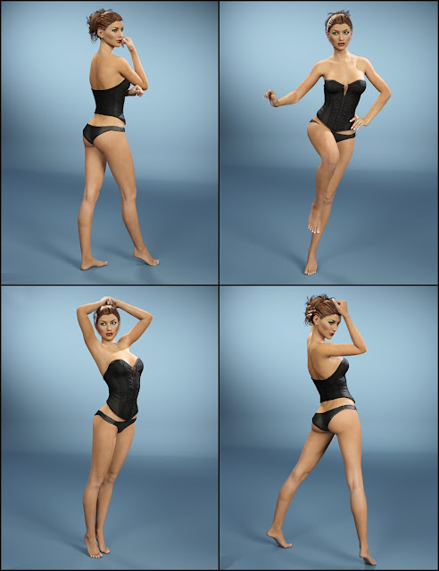 Modèle sexy i13 pose pour Victoria 7