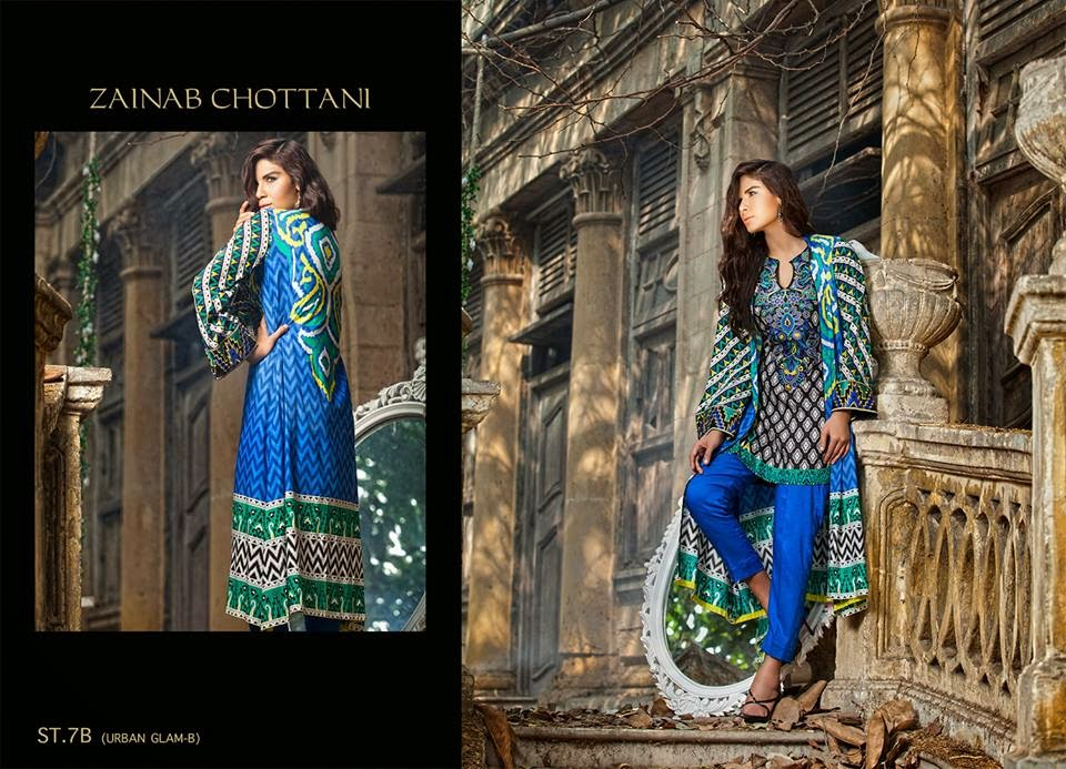 Shariq Textiles Winter Dresses 2015