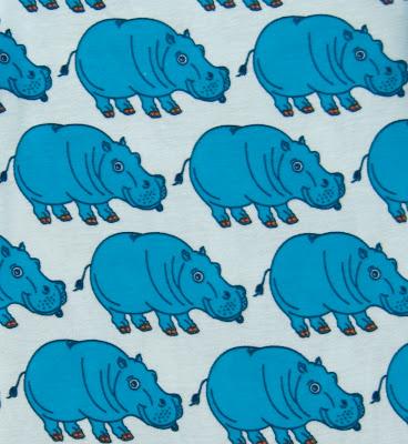 Smafolk Sommer 2013 Kollektion Hippo Hippos Print