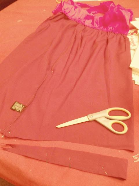 TARGET DRESS REDO