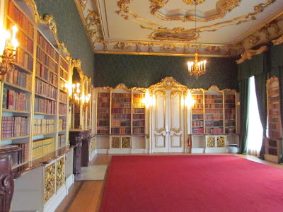 Wrest Park, Library, Stately Home