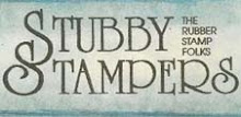 Stubby Stampers - Say you heard of them from Leigh S-B Designs & DominoART!