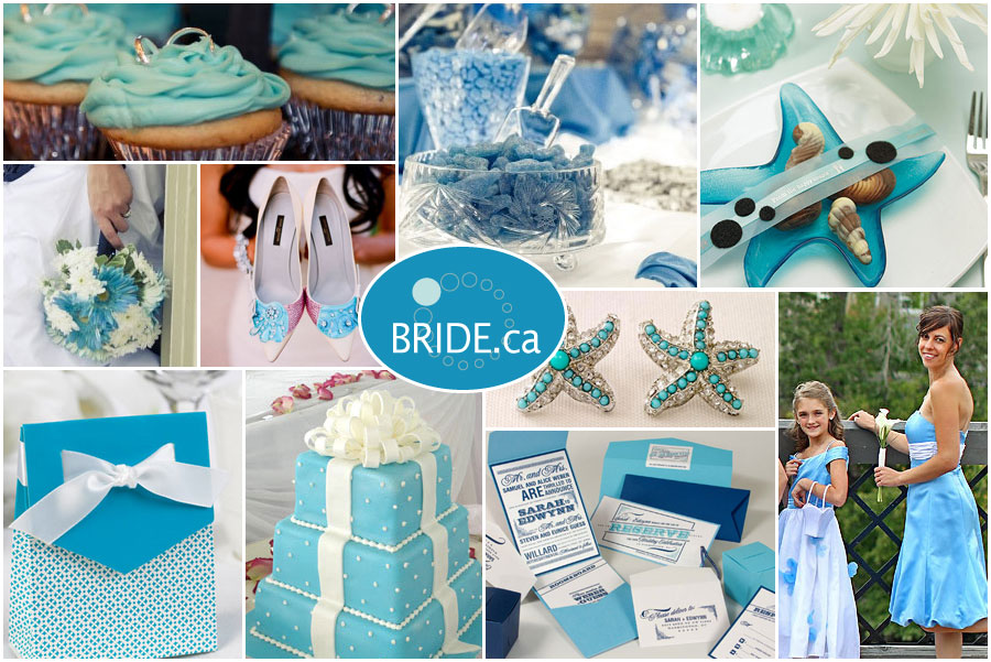 Blue Wedding Decoration Ideas