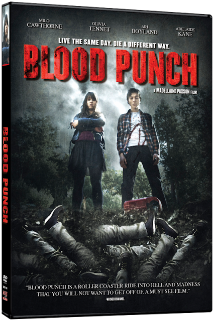 Blood Punch DVD Review Adelaide Kane Olivia Tennet Midnight Releasing
