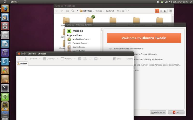 Instal aplikasi-aplikasi pendukung di Ubuntu Natty