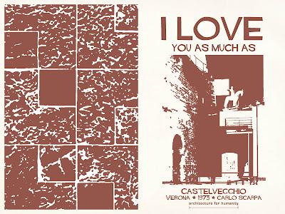 Cartão de amor para arquitetos