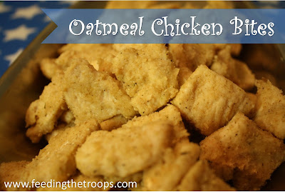 Oatmeal Chicken Bites