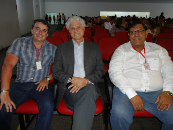 SEMARTE 2012 com Cipriano Luckesi, Rosana Nunes Alencar e Eduardo Martins de Barros Melo