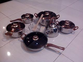 Jual Set Panci Oxone Eco Cookware murah di bekasi