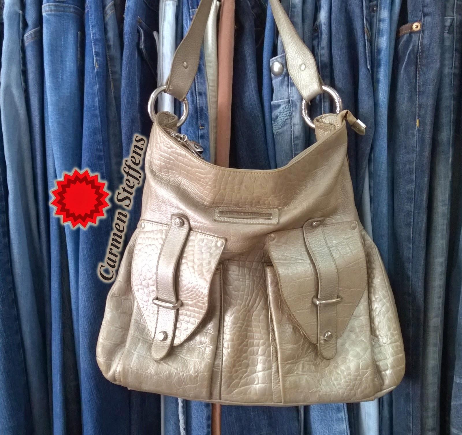 Bolsa De Couro Legitimo Usada : Moda de lari bolsa couro legitimo grande carmen