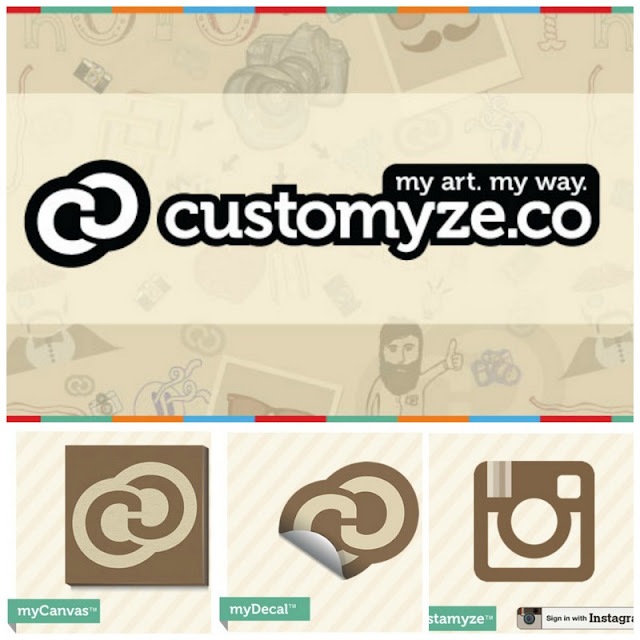 myCanvas, myDecal and Instamyze of Customyze.co