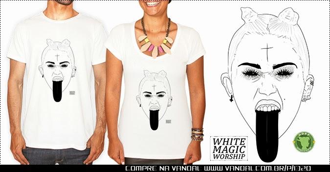 Compre a camisa da Miley!