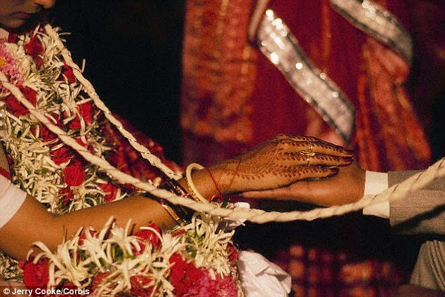Angry Bride Marries Wedding Guest (1)