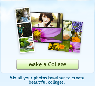 Picnik make a collage button