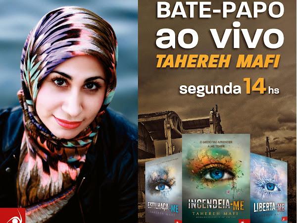 [Atualizada] Grupo Editorial Novo Conceito realizará bate-papo ao vivo com Tahereh Mafi (+ sorteio!)