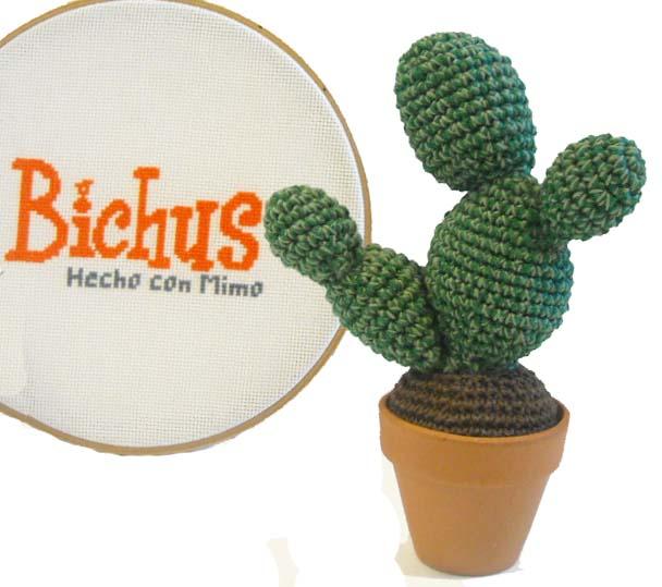 Amigurumi Cactus Paso A Paso : Bichus amigurumis patr�n gratis cactus amigurumi