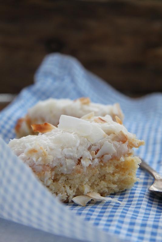 Ciasto podwójnie kokosowe