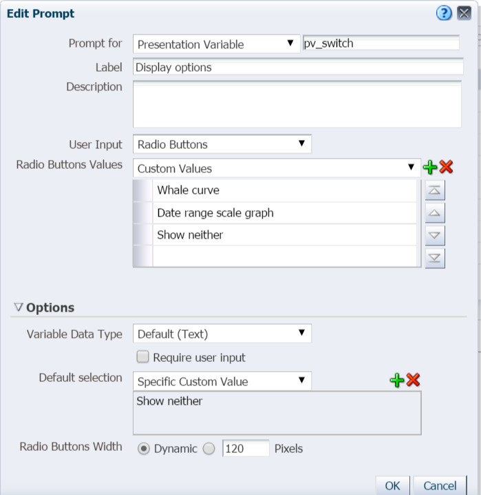 Vishals Blog 3 Way Switch In OBIEE 11g - 3 Way Switch Options