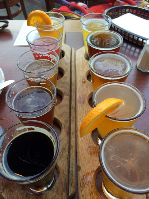 coronado brewing sampler
