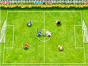 Chó đá bóng, chơi game da bong hay tại gamevui.biz