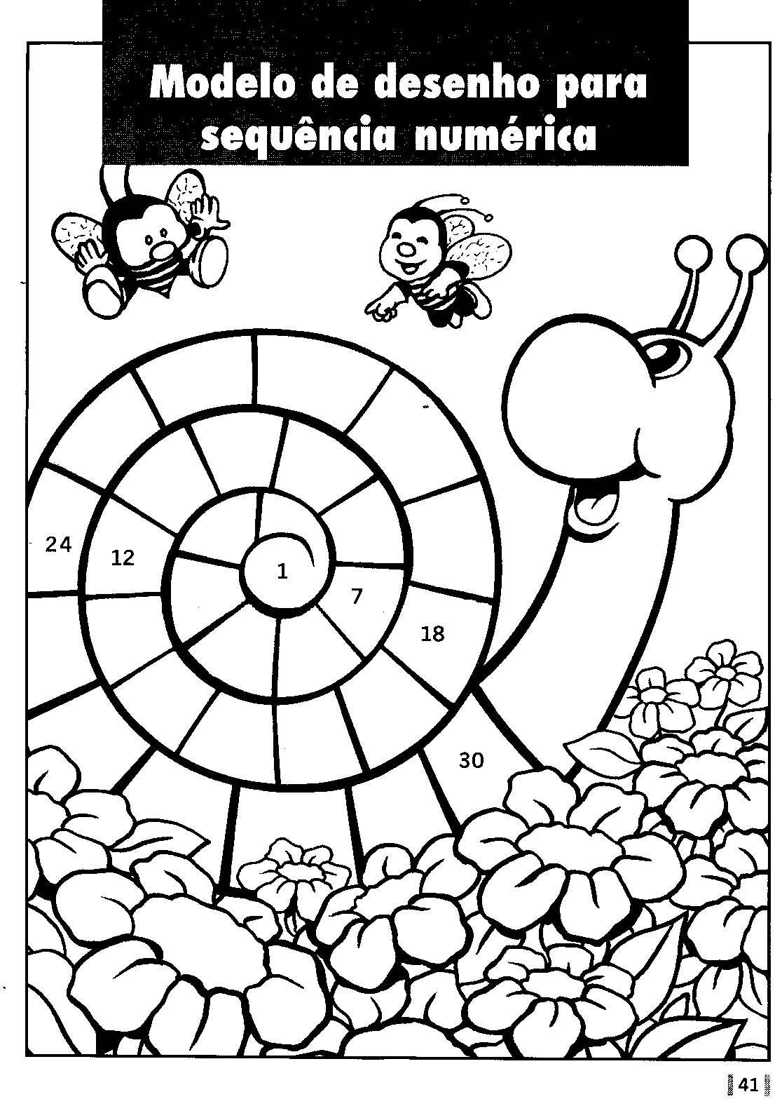 Atividades Para Colorir Infantil 2012 Sistema De Numeração Decimal