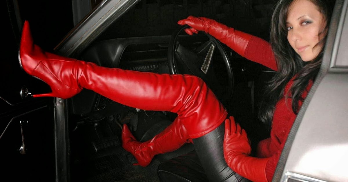Jennifer Hudson Car >> Leather Leather Leather Blog: Red Leather Day 5