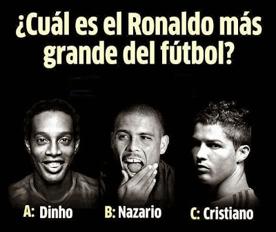 Cual es el mejor Ronaldo?