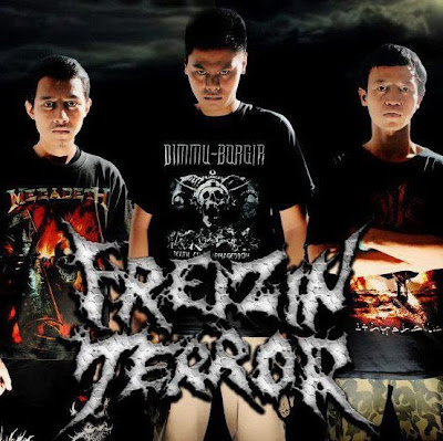 Freizin Terror Band Death Metal Bekasi Foto Logo Wallpaper