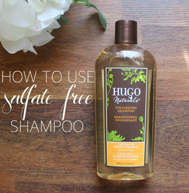How to Use Sulfate Free Shampoo