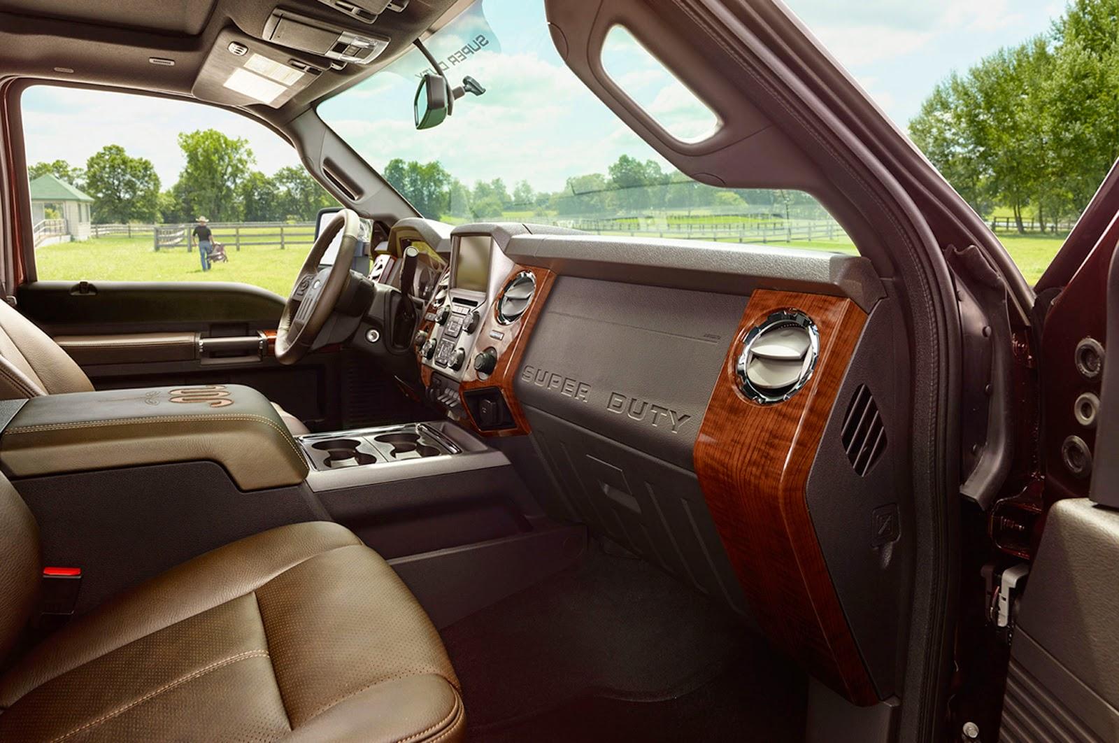 2015 ford f-250 interior