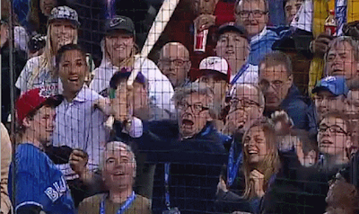 crazy old man toronto blue jays