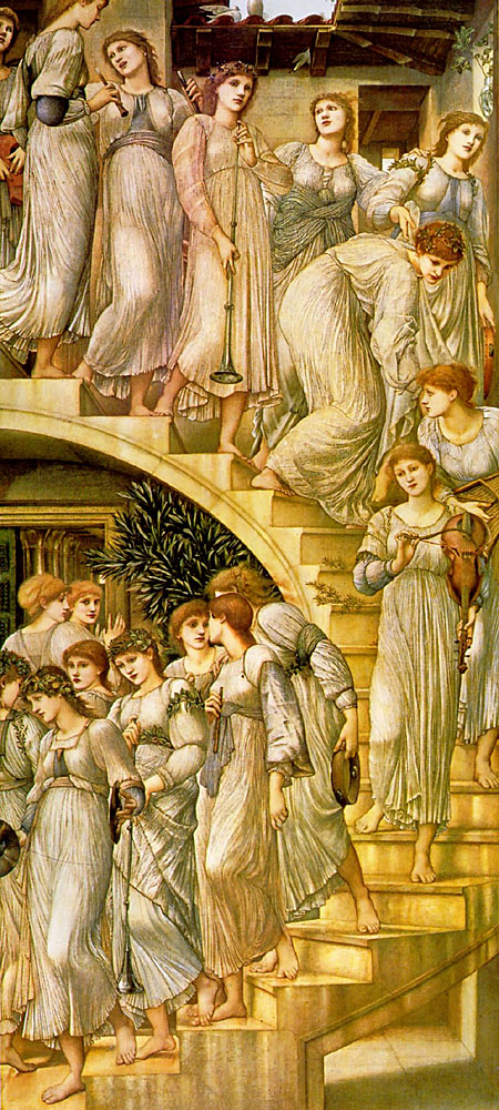 Edward Burne-Jones golden stairs