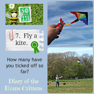 Mark Warner, Active Family, Challenge, Active Play, play, fly kite, kite, ball, park, butterflies, 50 things, fifty things