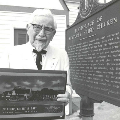 history kfc holdings mbhd first Kfc founder colonel sanders didn't achieve his remarkable rise to  in addition  to a stint in cuba with the army, sanders spent the first half of.