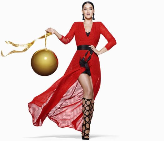 H&M Navidad 2015 campaña con Katy Perry
