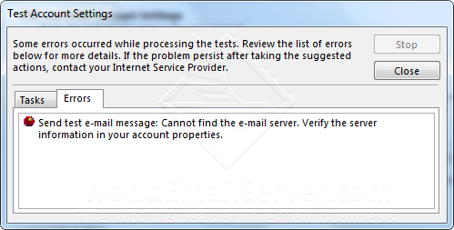 how to find the outgoing mail server in outlook