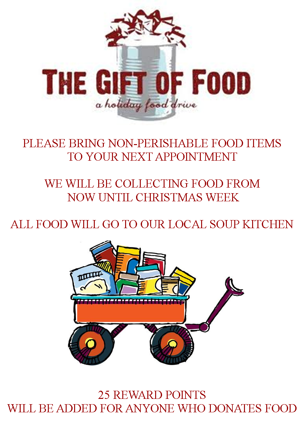 christmas food drive - photo #15