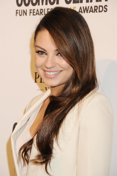 Mila Kunis Long Hairstyles