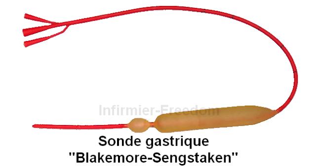 sonde gastrique Blakemore