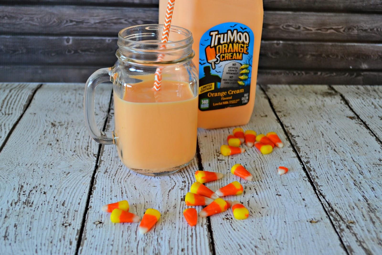 TruMoo Orange Scream Milk Shake #recipe TruMoo Milk Where to buy TruMoo Orange milk.  Orange milk recipes