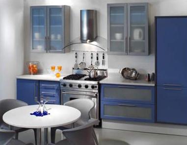 Peque as lecciones de dise o 38 los ejes de la cocina - Cocina con campana decorativa ...