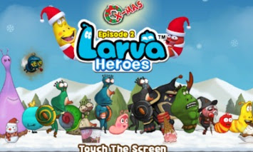 Game Larva Heroes 2 APK+DATA Mod Unlimited Money gold