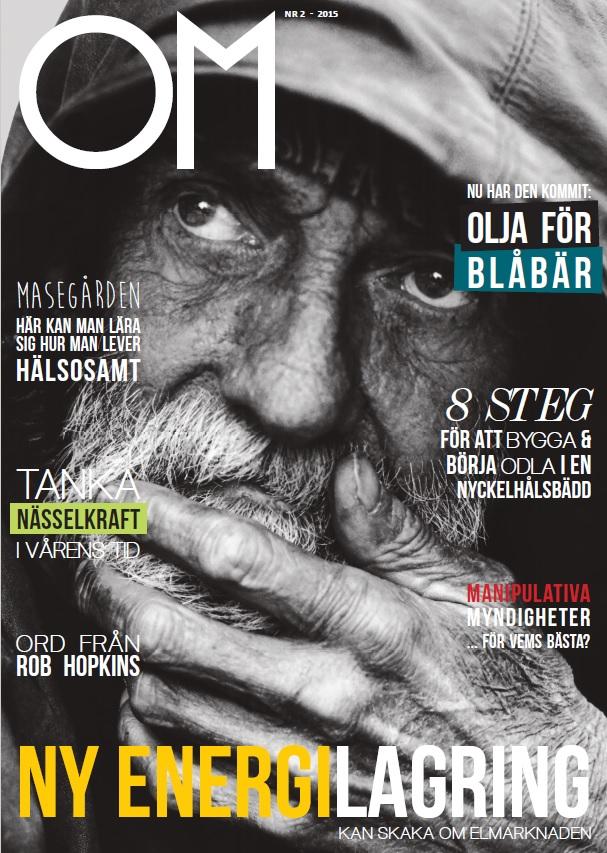 Tidningen Om Omställning, där Johan Landgren är redaktör och skrivit