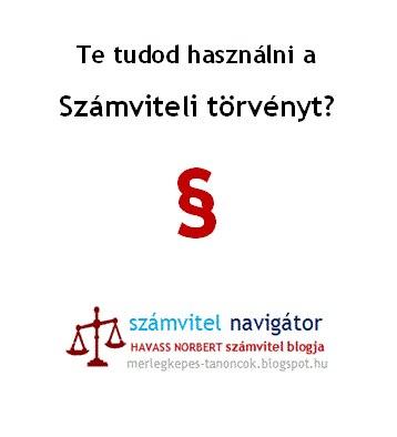 Számviteli törvény
