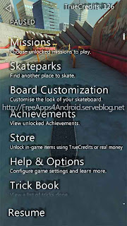 True Skate Free Apps 4 Android