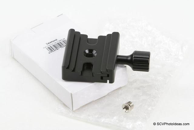 Desmond DAC-04 Arca/Slidefix QR Clamp - box