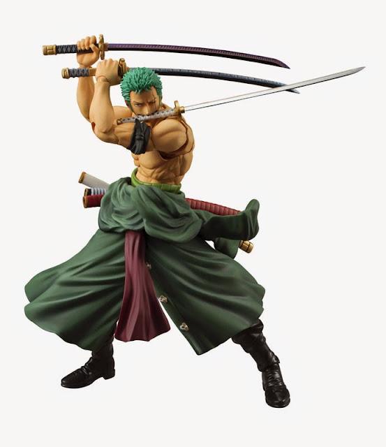 roronoa zoro the pirate hunter action figure